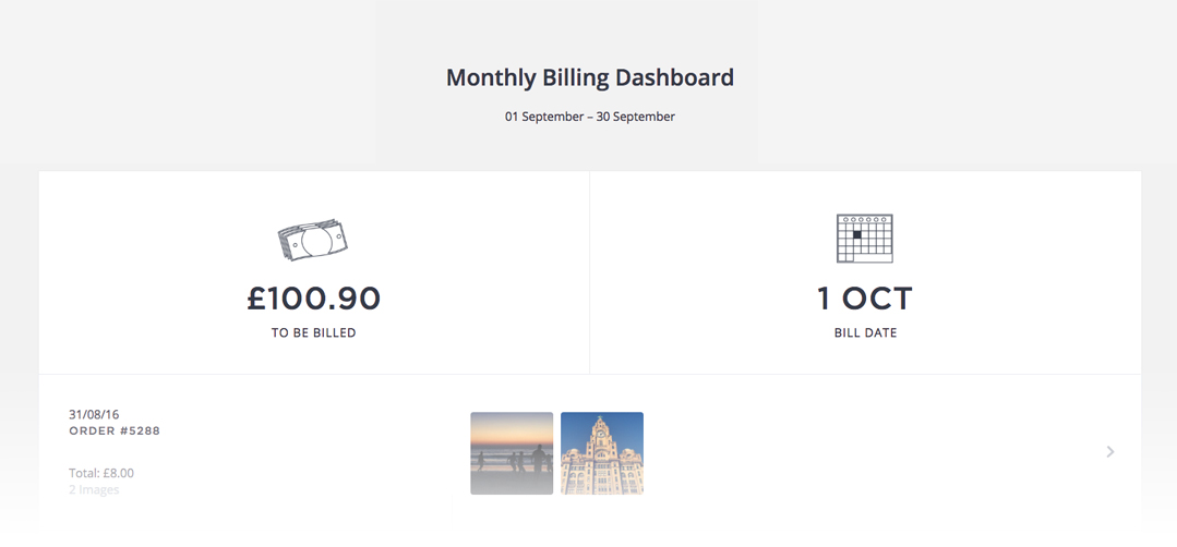 What is monthly billing